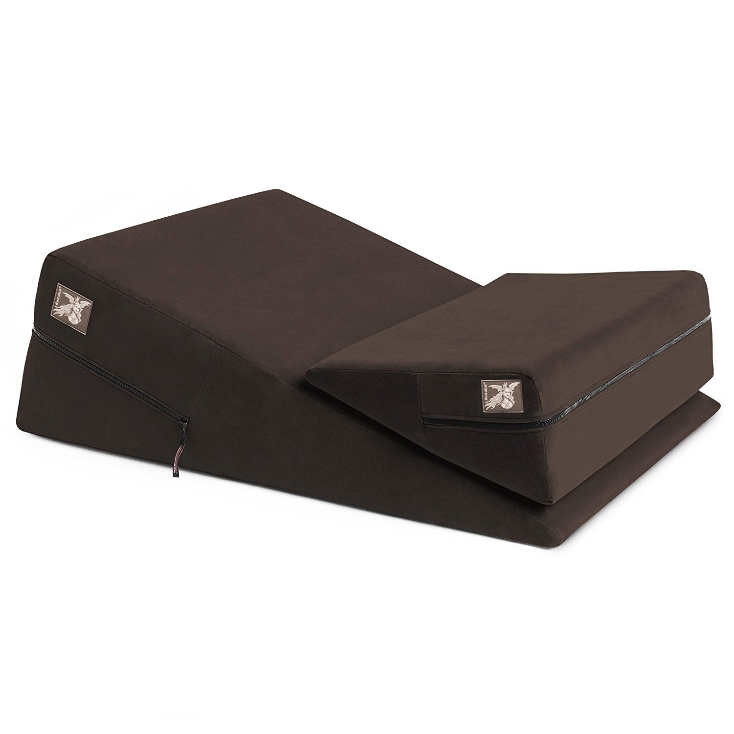 Liberator Wedge and Ramp Combo Chocolate Microfiber